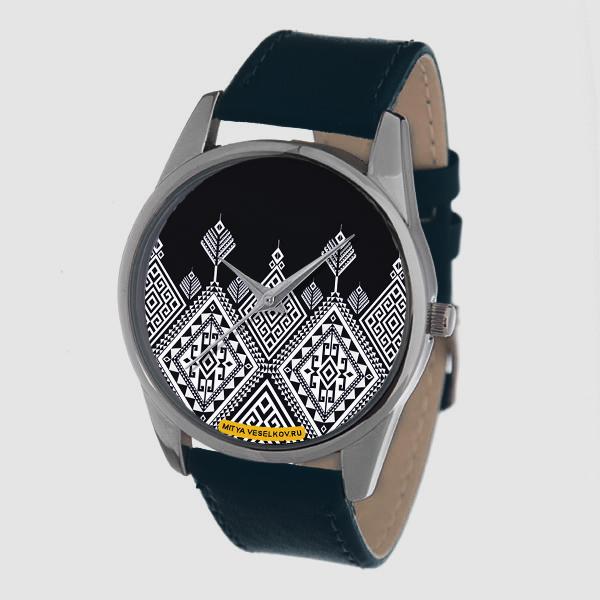 Часы Mitya Veselkov Северный узор (темно-синий) Color-114Color-114