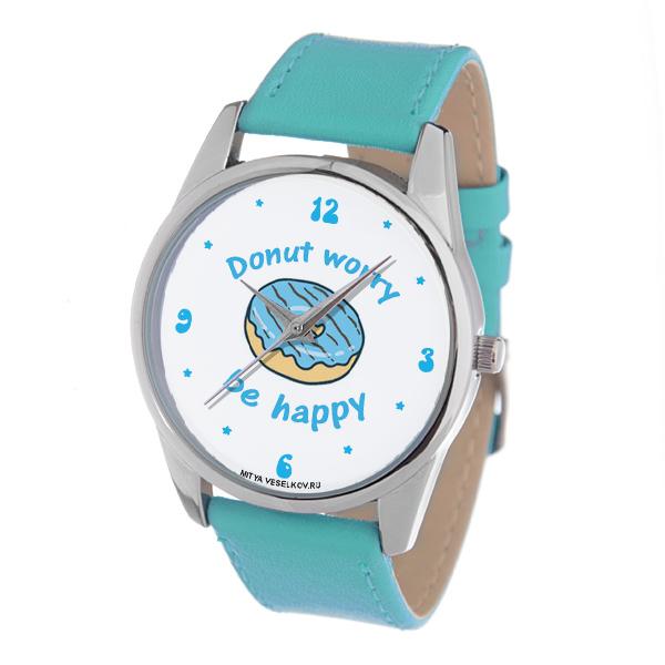 Часы Mitya Veselkov Donut worry (голубой) Color-116Color-116