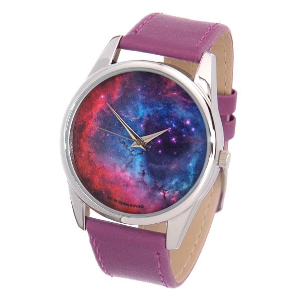 Часы Mitya Veselkov Космос (лиловый) Арт. Color-43Color-43