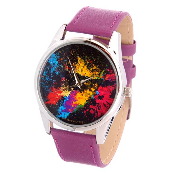 Часы Mitya Veselkov Палитра (лиловый) Арт. Color-44Color-44
