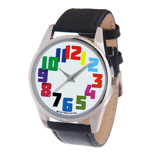Часы Mitya Veselkov Цветные числа MV-221MV-221