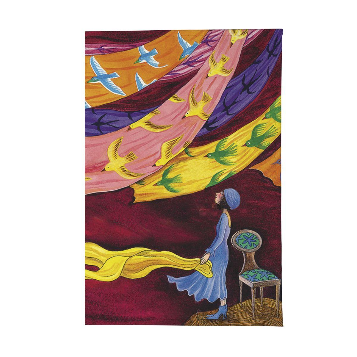 Обложка для паспорта Платки и птицы Арт. OZAM344OZAM344