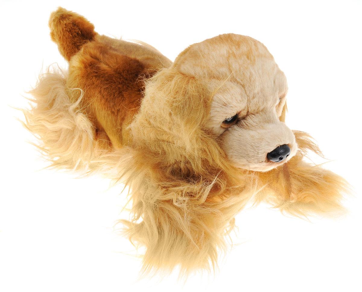 Russ Мягкая игрушка Кокер-спаниель 25 см35755Мягкая игрушка Russ Кокер-спаниель, выполненная в виде забавной собаки светло-коричневого цвета с пластиковыми глазами и носиком, вызовет умиление и улыбку у каждого, кто ее увидит. Игрушка изготовлена из высококачественных нетоксичных и гипоаллергенных материалов и наделена индивидуальностью и невероятным шармом. Специальные гранулы, используемые при набивке, способствуют развитию мелкой моторики рук малыша. Удивительно мягкая игрушка принесет радость и подарит своему обладателю мгновения нежных объятий и приятных воспоминаний. Великолепное качество исполнения делают эту игрушку чудесным подарком к любому празднику.