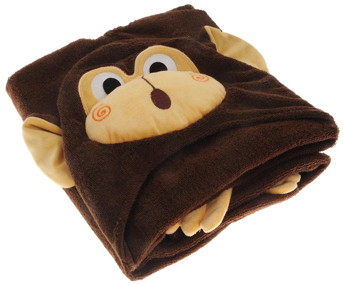 Zoocchini Полотенце с капюшоном Шимпанзе Чиппи00576Наши полотенца не только позволят ребёнку чувствовать себя сухо и тепло после купания, но и благодаря уникальным дизайнерским решениям в виде лапок, хвостов, плавников и крылышек, дадут повод для костюмированной игры. Изготовленные из 100% хлопка, наши полотенца подарят Вашему ребёнку мягкое плюшевое удовольствие. Подходит для детей от 2 лет. Размер 127х55 см. 100% хлопок.
