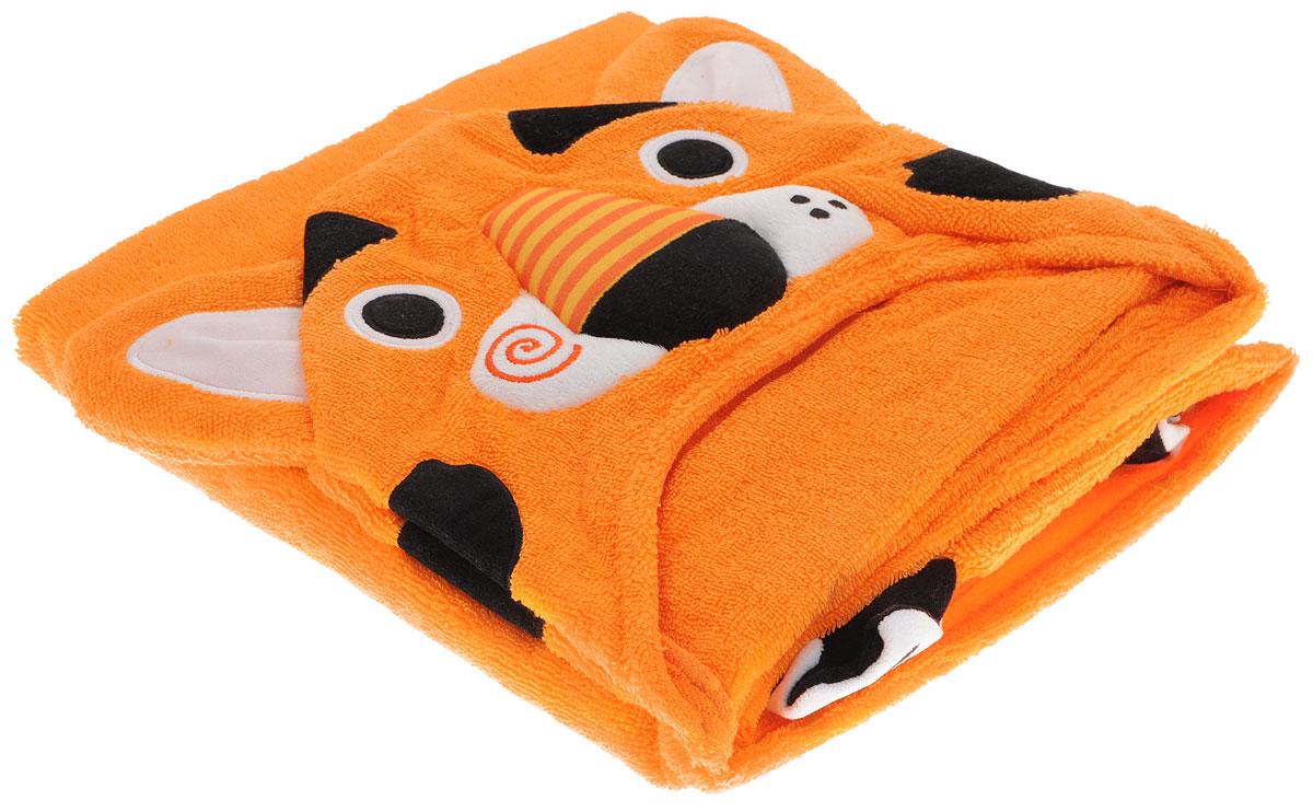 Zoocchini Полотенце с капюшоном Тигр Тревис00509Наши полотенца не только позволят ребёнку чувствовать себя сухо и тепло после купания, но и благодаря уникальным дизайнерским решениям в виде лапок, хвостов, плавников и крылышек, дадут повод для костюмированной игры. Изготовленные из 100% хлопка, наши полотенца подарят Вашему ребёнку мягкое плюшевое удовольствие. Подходит для детей от 2 лет. Размер 127х55 см. 100% хлопок.