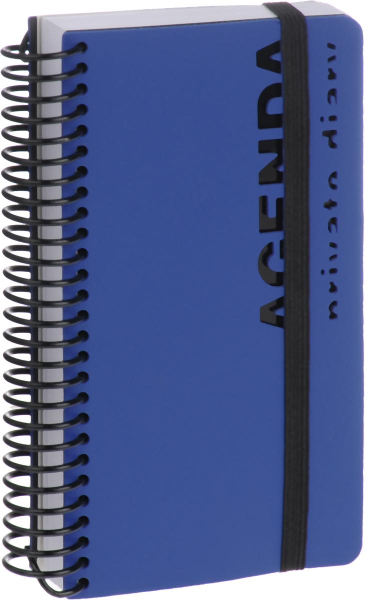 Bruno Visconti Ежедневник Agenda недатированный 136 листов цвет синий