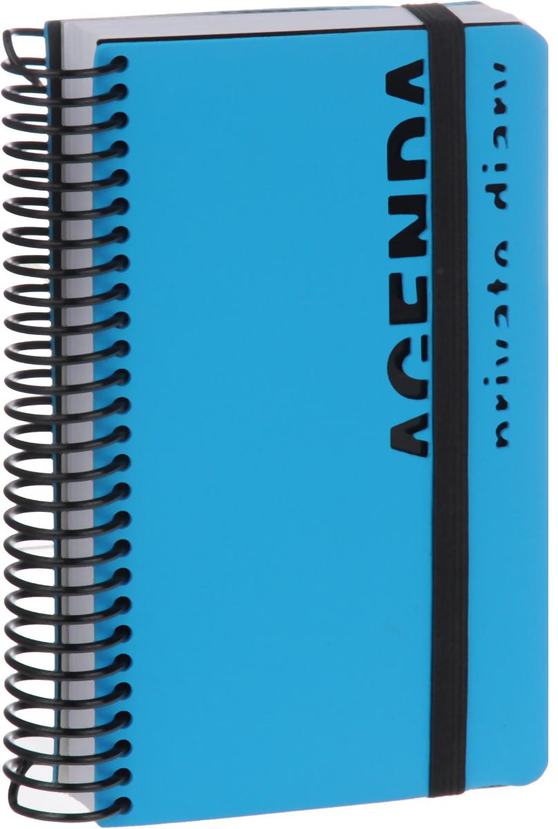 Bruno Visconti Ежедневник Agenda недатированный 136 листов цвет голубой