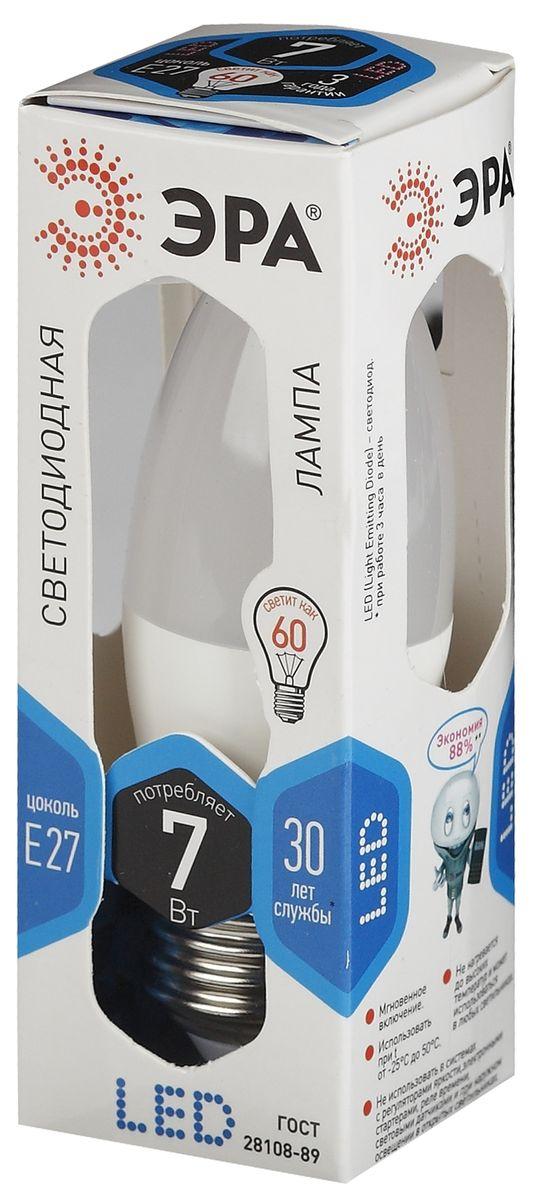Лампа светодиодная ЭРА, LED smd B35-7w-840-E275055945503067