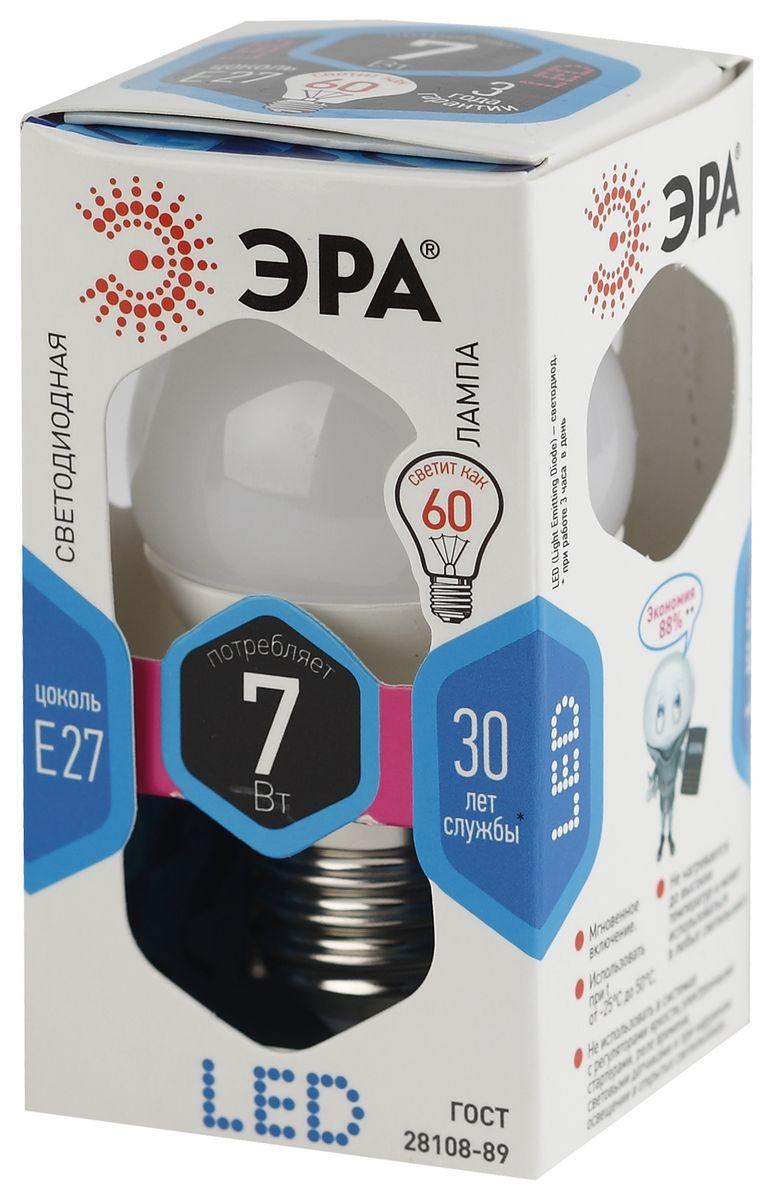 Лампа светодиодная ЭРА, LED smd P45-7w-840-E275055945518252