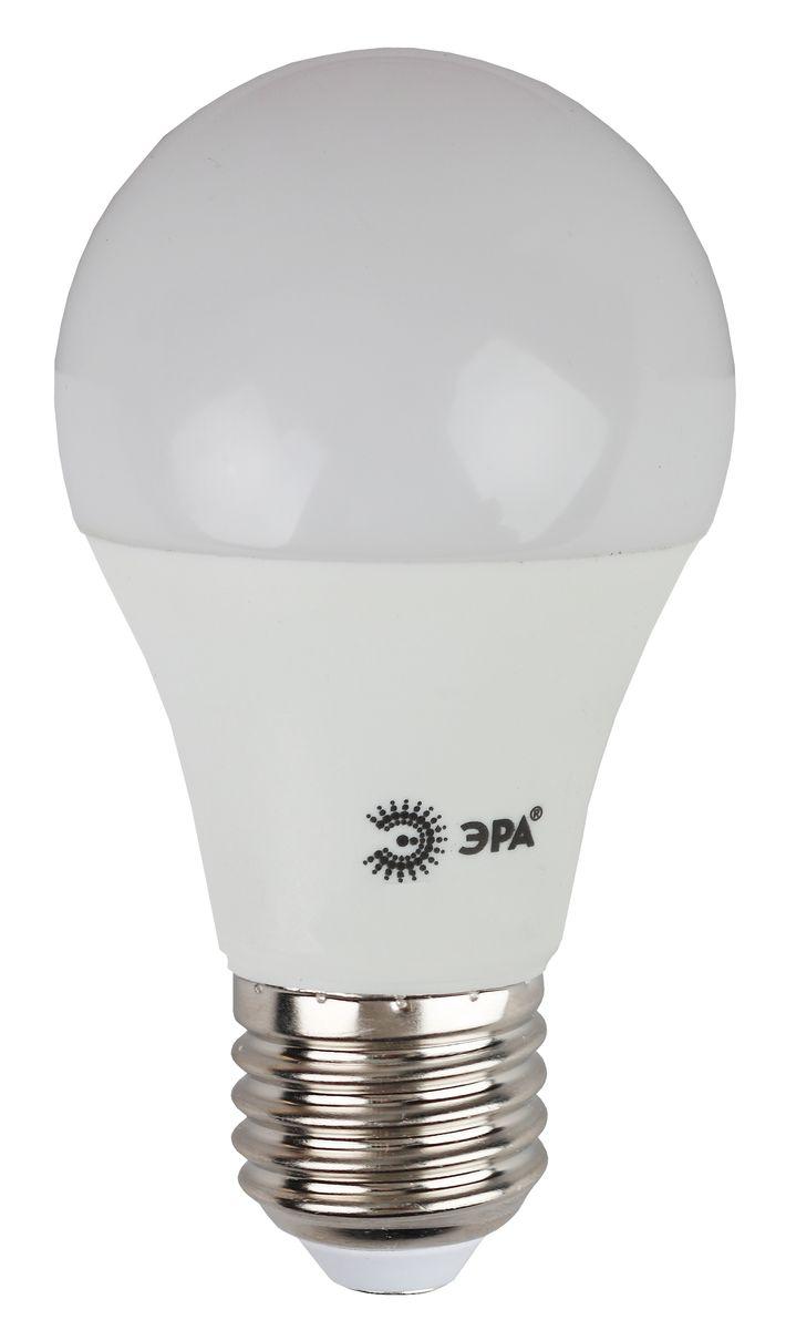 Лампа светодиодная ЭРА, цоколь E27, 170-265V, 10W, 4000К5055945536522Светодиодная лампа ЭРА является самым перспективным источником света. Основным преимуществом данного источника света является длительный срок службы и очень низкое энергопотребление, так, например, по сравнению с обычной лампой накаливания светодиодная лампа служит в среднем в 50 раз дольше и потребляет в 10-15 раз меньше электроэнергии. При этом светодиодная лампа практически не подвержена механическому воздействию из-за прочной конструкции и позволяет получить любой цвет светового потока, что, несомненно, расширяет возможности применения и позволяет создавать новые решения в области освещения. Особенности серии Eco: Предназначена для обычного потребителя Цена ниже, чем цена компактной люминесцентной лампы Световая отдача источников света - 70-80 лм/Вт Срок службы составляет 25000 часов Гарантия - 1 год. Работа в цепи с выключателем с подсветкой не рекомендована.