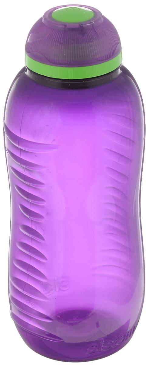 Бутылка для воды Sistema Twist n Sip, цвет: фиолетовый, 330 мл780NW_фиолетовыйБутылка для воды Sistema Twist n Sip изготовлена из прочного пищевого пластика без содержания фенола и других вредных примесей. Поверхность бутылки снабжена рельефом и специальными выемками для удобного хвата. Бутылка имеет уникальную запатентованную систему крышки Twist n Sip, которая предотвращает выливание жидкости и в то же время позволяет удобно пить напитки. С такой бутылкой вы сможете где угодно насладиться вашими любимыми напитками. Высота бутылки: 16 см.