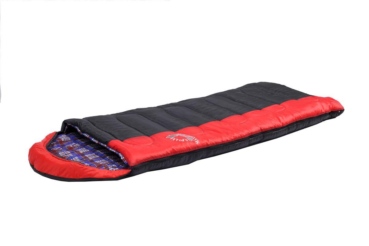 Спальный мешок Indiana Maxfort Plus, правая молния, цвет: красный ,черный, синий, 195 х 35 х 90 см360700045Спальный мешок Maxfort PLUS R-zip от -15C (одеяло с подголов фланель195+35X90 см). Универсальный спальный мешок с подкладкой из хлопковой фланели и с расширенными температурными режимами – его можно использовать не только в теплые летние ночи, но также холодной осенью и весной. Выпускается как с левой, так и правой молнией.