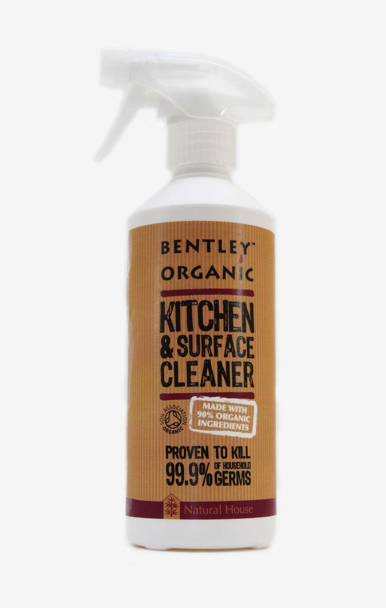 Очиститель для кухонных поверхностей Bentley Organic, 500 мл843389000137_новый дизайнХарактеристика: - Естественно и тщательно очищает все твердые моющиеся кухонные поверхности. - Подходит для очищения поверхностей кухонной мебели, обеденных столов, плит, холодильников, стиральных машин. - Убивает 99,9 % микробов, встречающихся дома, в том числе такие как сальмонелла, листерия, кишечная палочка, вирус гриппа H1N1 (доказано тестом BS1276). - Удаляет химикаты, остатки удобрений и пестицидов и прочие загрязнения с поверхности растительных продуктов. - В составе натурального средства для всех кухонных поверхностей 100% природные ингредиенты. - Только растительные пенящие вещества. - Не содержит фосфатов, производных хлора и сульфатов. Биоразлагаема. Не загрязняет водоемы. Состав: Вода, децил глюкозид, лаурил бетаин, экстракты грейпфрута, бергамота, танжерина, апельсина, аскорбиновая кислота, порошок из сока листьев алоэ, масло кожуры апельсина, молочная кислота, лимонная кислота, глицерин.