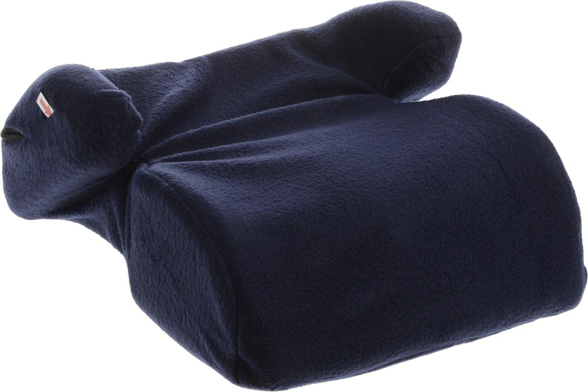 Sapfire Бустер, цвет: темно-синий, 22-36 кг0001-SCS_темно синийАвтокресло Sapfire разработано для детей весом от 22 до 36 кг (приблизительно возраст ребенка от 6 до 12 лет). Устанавливается на любое, кроме переднего ряда, посадочное место, оборудованное диагонально-поясным ремнем безопасности. Неровная поверхность нижней части бустера препятствует скольжению по сиденью автомобиля. Анатомическая посадочная верхняя часть бустера позволяет длительно использовать его при поездке на дальние расстояния, а боковая поддержка удерживает ребенка при боковых перемещениях. Данный бустер не вызывает охлаждение мочеполовой системы ребенка при минусовых температурах в отличии от пластиковых бустеров. Если возникает необходимость, вы можете использовать бустер за любым обеденным столом, так как укороченная передняя часть позволяет вплотную придвинуться грудью к столу. И самое главное - избавит вас от необходимости искать в кафе детский стульчик. Чехол кресла на застежке-молнии, легко снимается и стирается. Правильная установка и...
