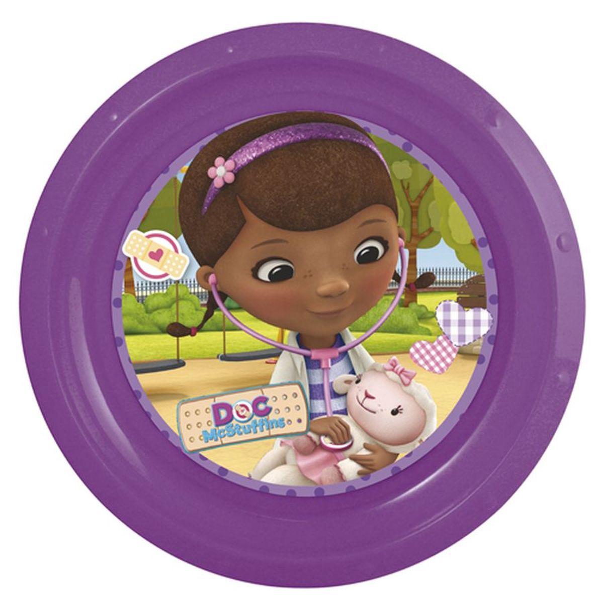 Disney Тарелка Доктор Плюшева диаметр 21,5 см
