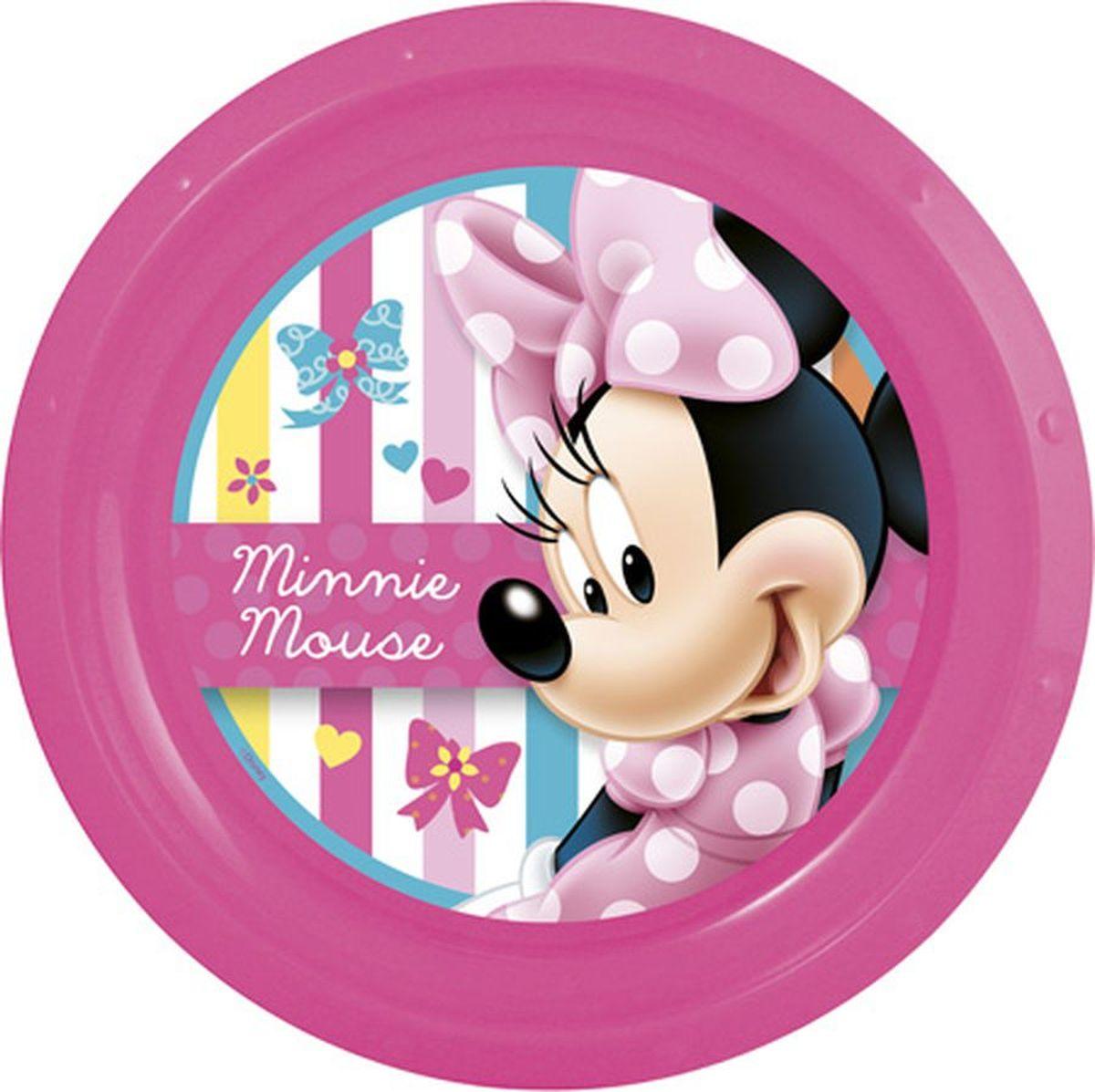 Disney Тарелка Минни диаметр 21,5 см59512