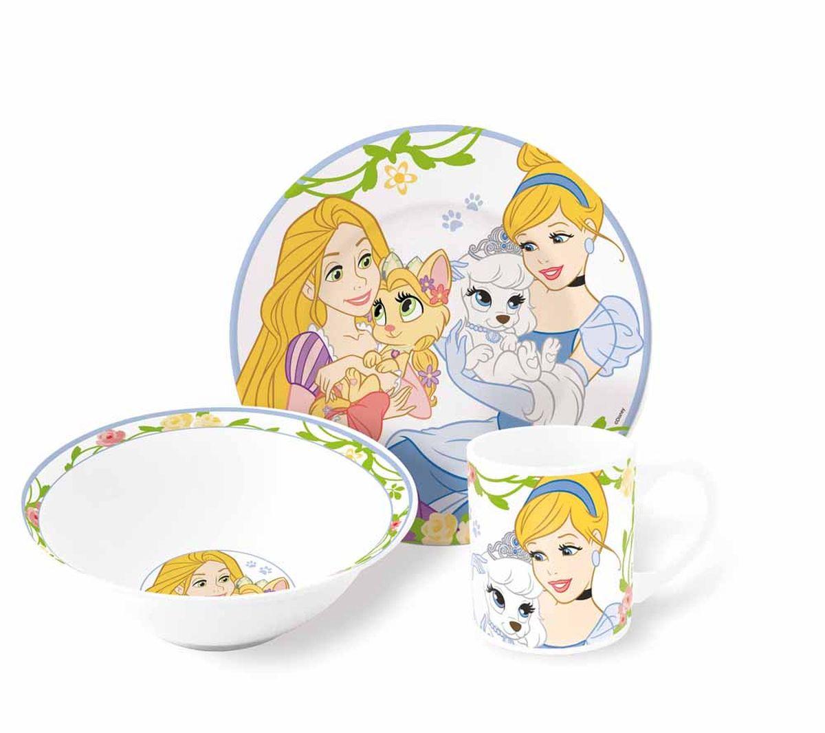 Disney Набор детской посуды Королевские Питомцы 3 предмета72965