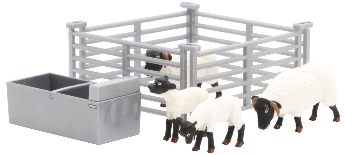 Tomy Игровой набор Овцы в загоне43080Игровой набор Tomy Овцы в загоне - это отличный игровой набор, который придется по вкусу любому ребенку. Загон, кормушка и сами овцы выполнены очень реалистично, поэтому в какой-то момент может показаться, что игра происходит с настоящими животными, уменьшенными в размере. Играя с набором, ребенок сможет самостоятельно придумать увлекательный сюжет.