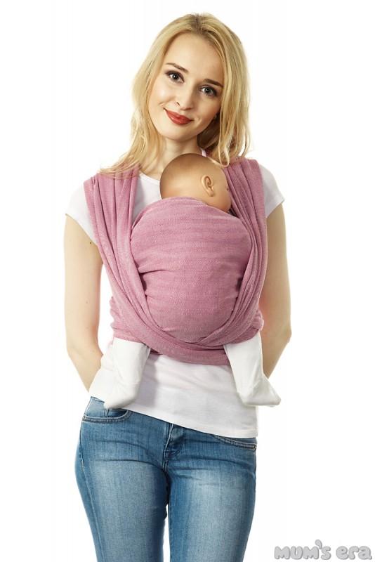 Mum's Era Слинг-шарф Нидл Long цвет лилак размер M 4,7 м