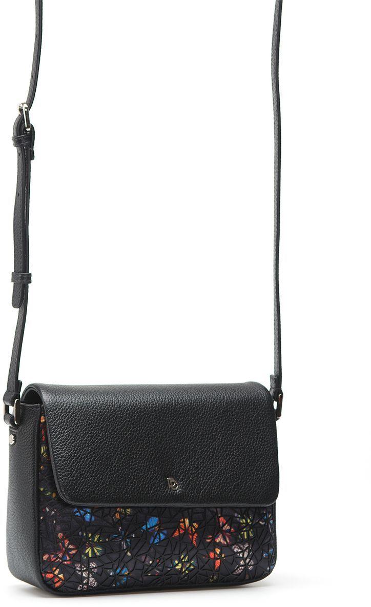 Сумка PIMO BETTI 13866BL-W1 018 CFFGA/K.IBE13866BL-W1Женская сумка торговой марки PimoBetti из натуральной кожи и текстиля. Сумка закрывается на магнит. Внутри - одно отделение, в котором есть карман на молнии и открытый карман. Сумка имеет карман на задней стенке. Длина наплечного ремня - 125 см.