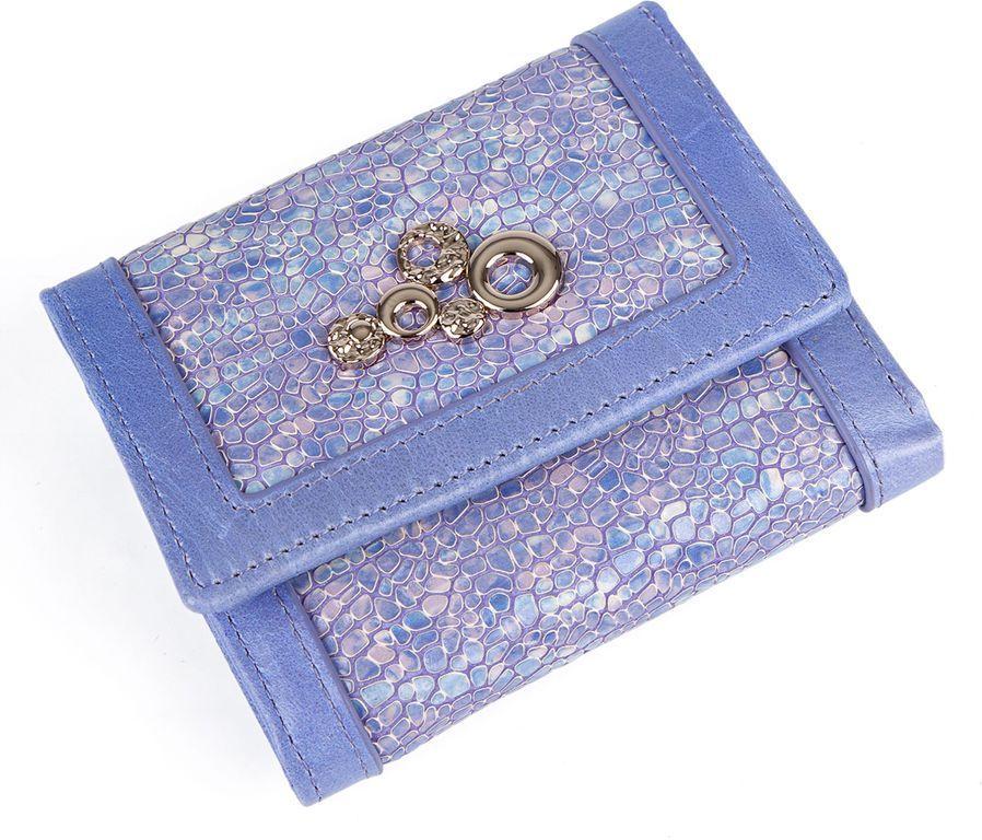 Кошелек Labbra L043-89002 lavenderL043-89002Женский кошелёк торговой марки LABBRA из натуральной кожи. Модель закрывается на кнопку. В кошельке есть три складывающихся отделения для крупных купюр, одно их которых на молнии, 3 отделения для кредитных и дисконтных карт. Отделение для мелочи - внутри, закрывается на кнопку, имеет одно отделение.