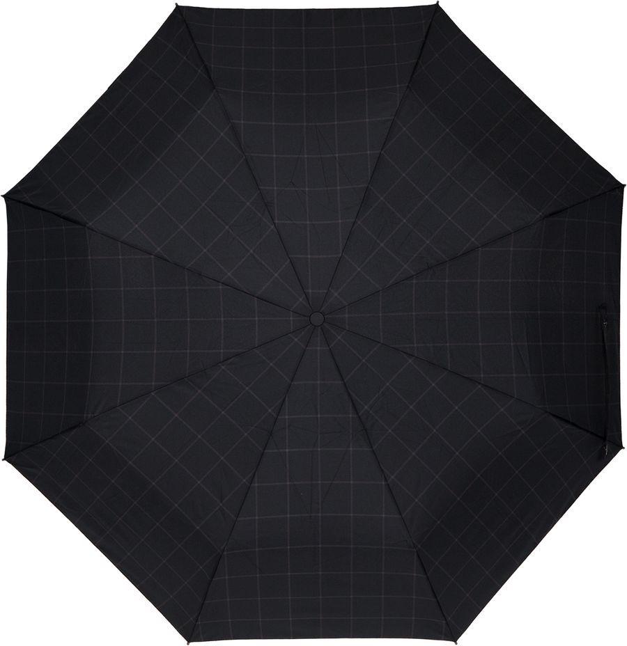 Зонт Eleganzza муж А3-05-FF1574LS 01A3-05-FF1574LSМужской зонт-автомат. Материал купола 100% полиэстер, эпонж. Материал каркаса: сталь + фибергласс. Материал ручки: пластик. Длина изделия - 30 см, диаметр купола - 98 см.