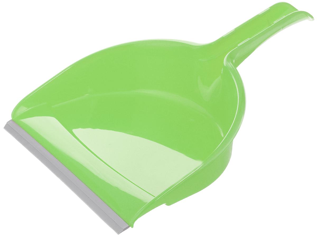 Совок York Компакт, с резиновым краем, цвет: салатовый, серый6105_салатовыйСовок York Компакт, выполненный из пластика, предназначен для сбора мусора и пыли при уборке помещений. Он оснащен эргономичной ручкой с отверстием для подвешивания. Благодаря резиновому краю совка, в него легко сметать грязь и мусор. Размер рабочей части: 21 х 16 см. Длина ручки: 12 см.