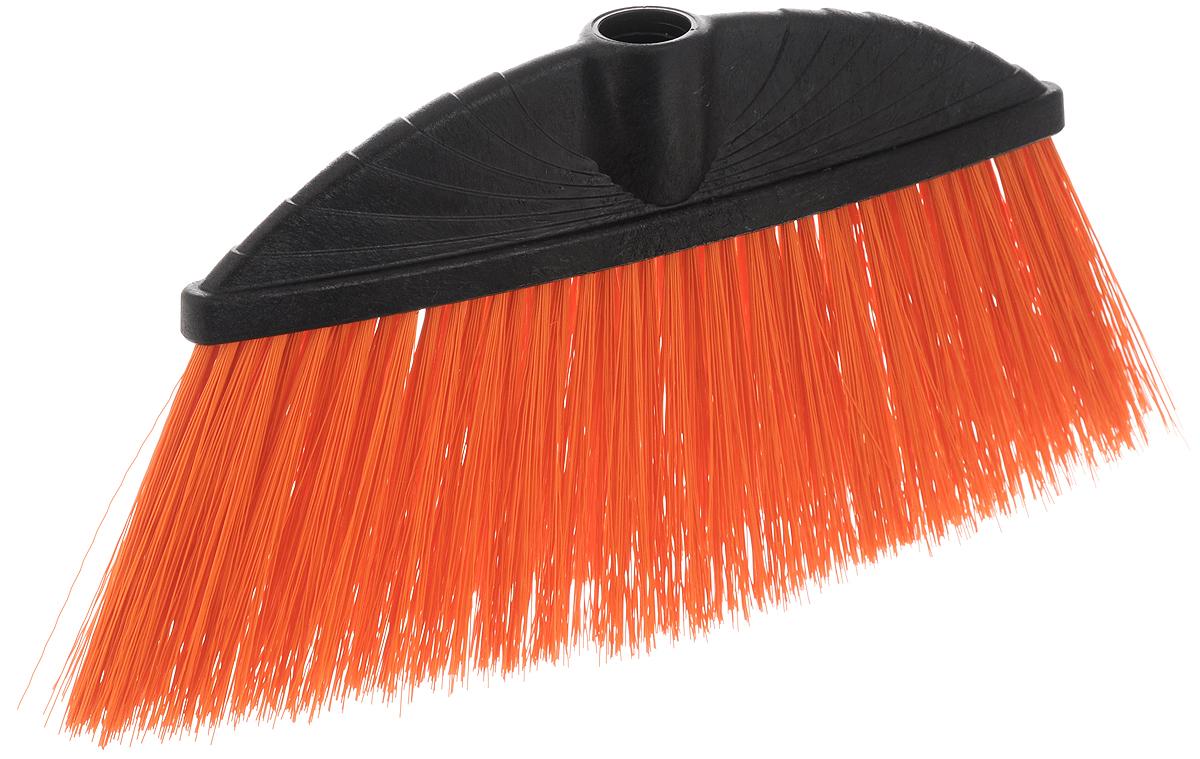 Щетка York Marta, без ручки, цвет: оранжевый, черный5013_чёрный, оранжевыйЩетка York Marta изготовлена из пластика и предназначена для уборки сухого мусора. Щетка оснащена универсальной резьбой, которая подходит ко всем видам ручек. Упругий удлиненный ворс позволит тщательнее и быстрее собирать мусор. Ширина щетки: 24 см. Длина ворса: 10 см. Диаметр отверстия под ручку: 2,1 см.