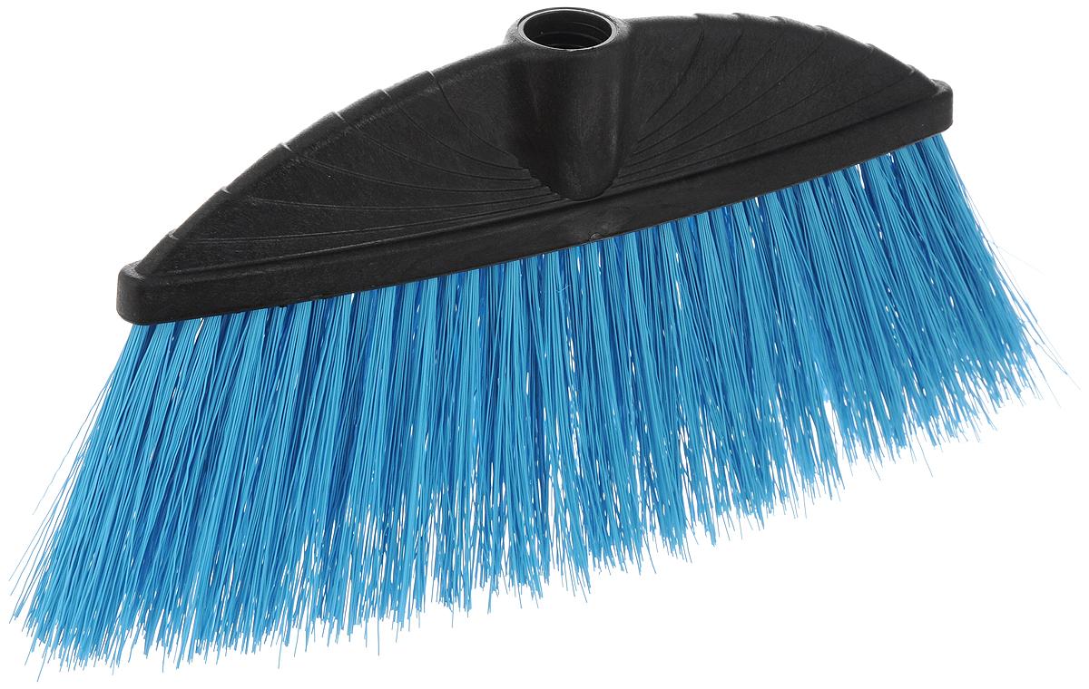 Щетка York Marta, цвет: черный, голубой, без ручки5013_чёрный-голубойЩетка York Marta изготовлена из пластика и предназначена для уборки сухого мусора. Щетка оснащена универсальной резьбой, которая подходит ко всем видам ручек. Упругий удлиненный ворс позволит тщательнее и быстрее собирать мусор. Ширина щетки: 24 см. Длина ворса: 10 см. Диаметр отверстия под ручку: 2,1 см.