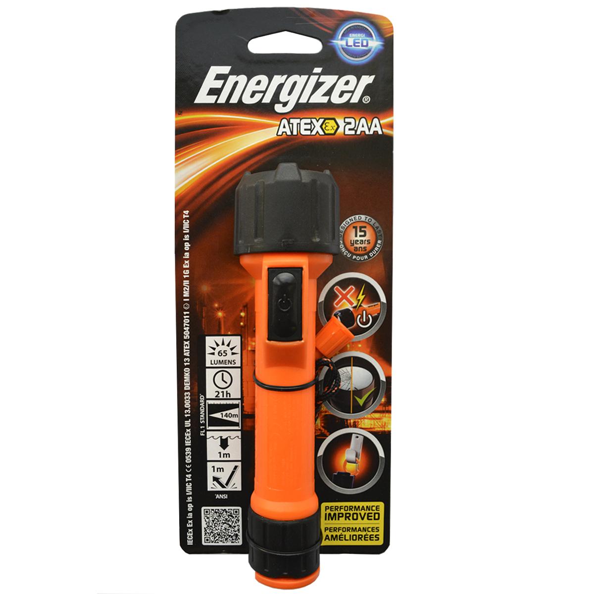 Фонарь ручной Energizer ATEX. 638574