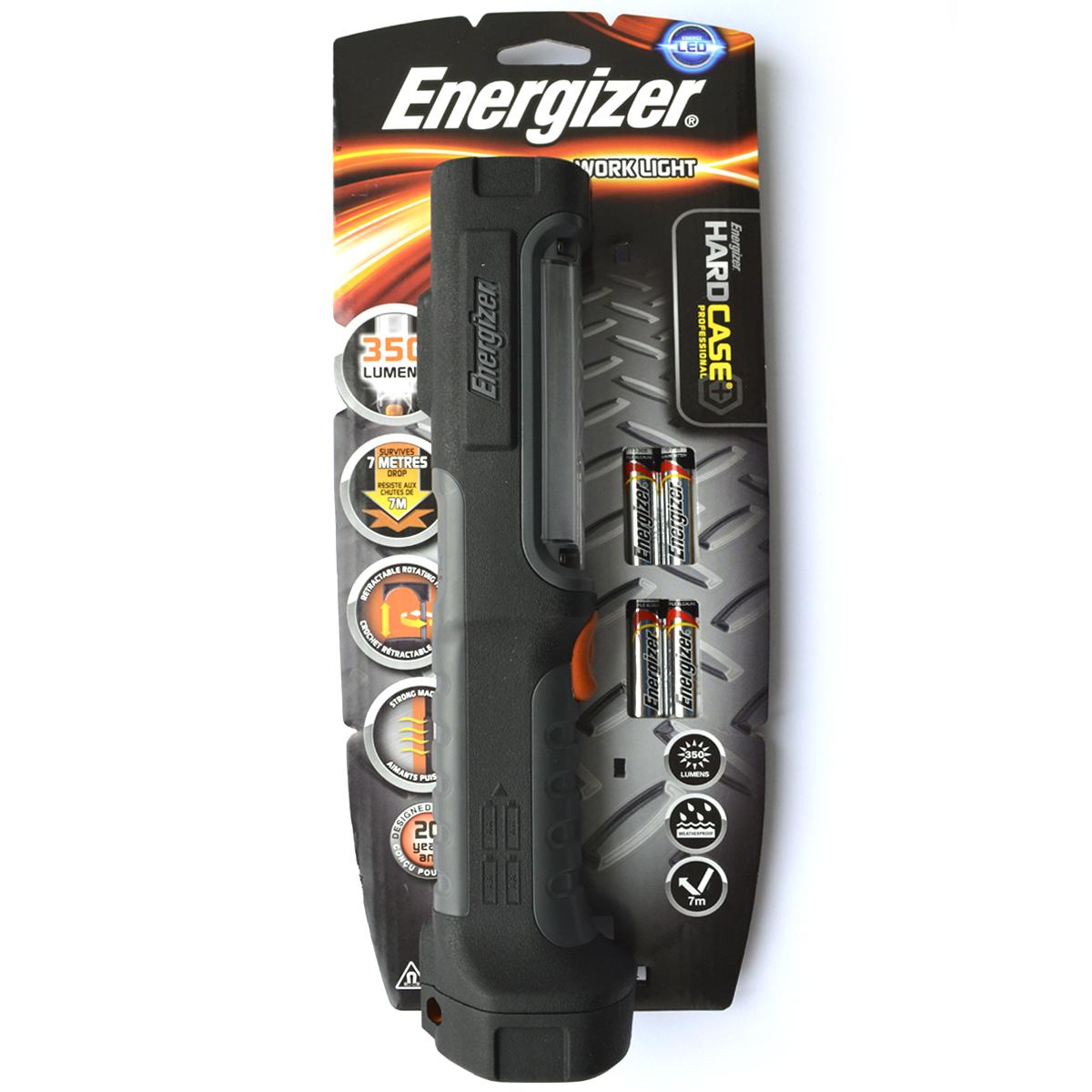 Фонарь ручной Energizer HardCase Pro Work Lig. 639825