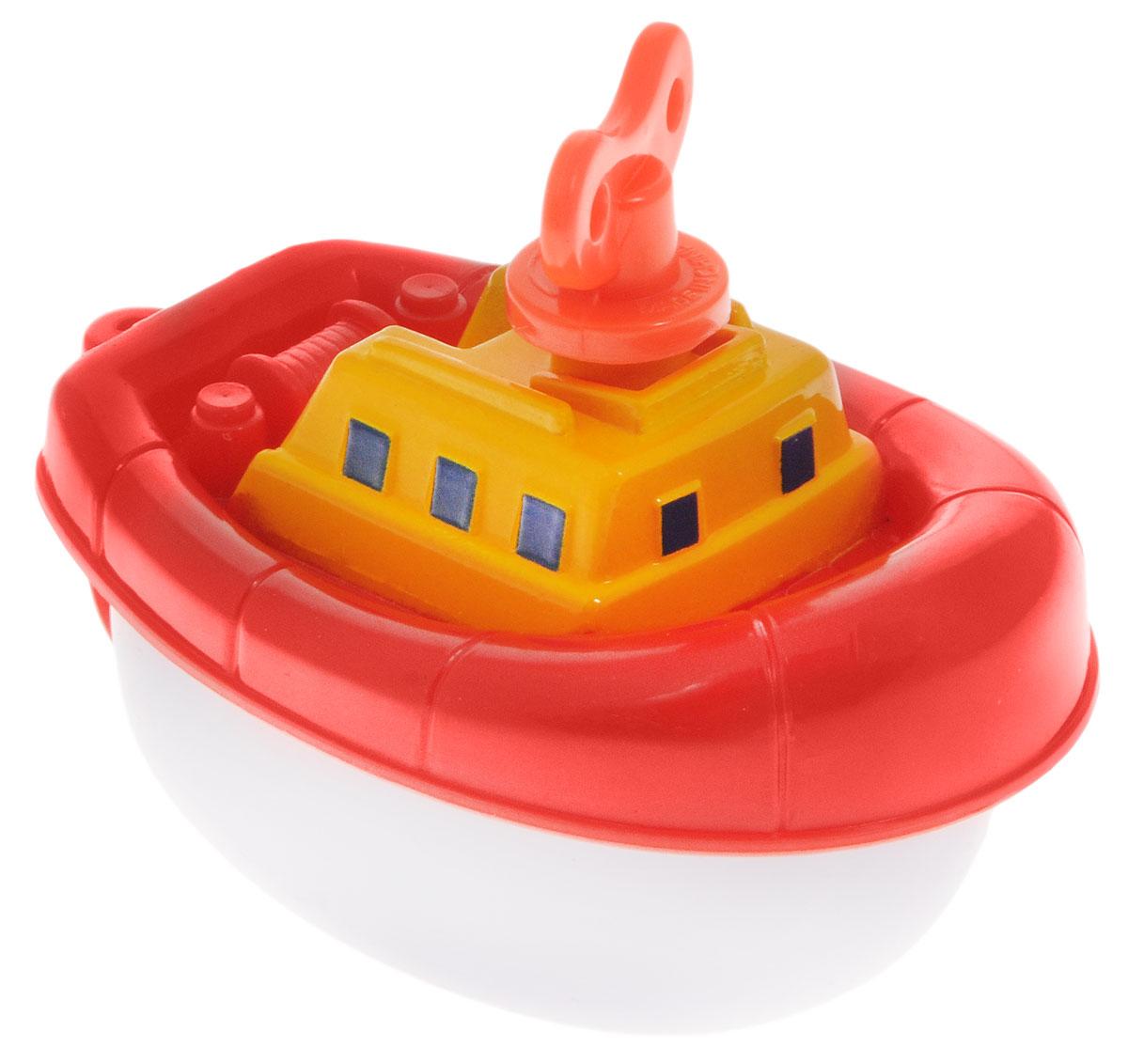 Navystar Игрушка для ванной Пароходик цвет красный63901-1-RЗаводная игрушка Пароходик порадует вашего малыша во время купания и сделает этот порой нелегкий процесс приятным и веселым. Пароходик выполнен из яркого безопасного пластика. Механическая игрушка быстро плавает по поверхности воды. Даже ребенку легко завести кораблик с помощью специального ключика, расположенного на крыше игрушки. Данная игрушка не только развеселит вашего малыша, но и поможет развить мелкую моторику.