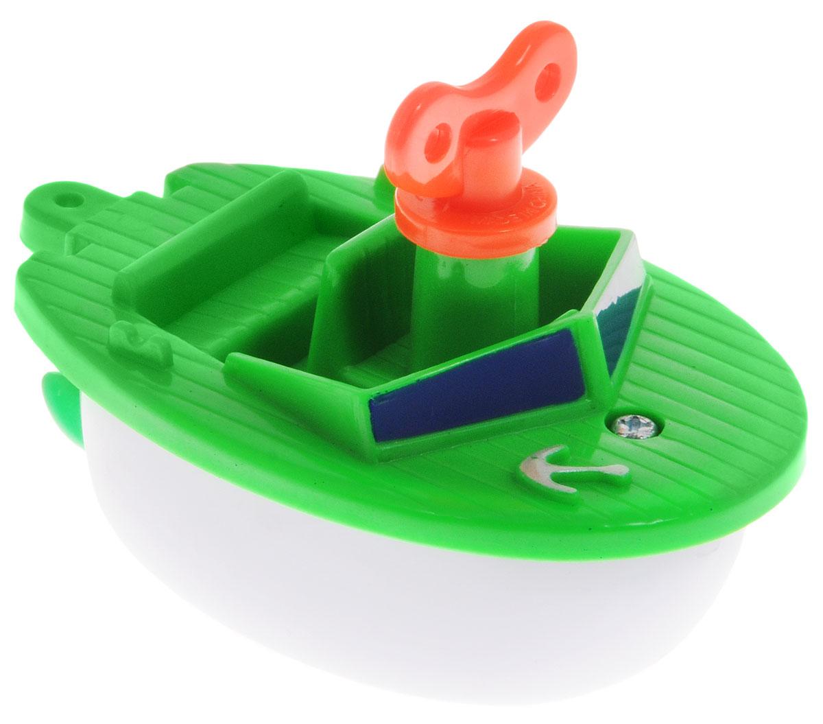 Navystar Игрушка для ванной Катер63901-1-GИгрушка для ванной Navystar Катер обрадует вашего малыша во время купания и сделает этот порой нелегкий процесс приятным и веселым. Игрушка выполнена в виде яркого катера с ключиком. Если завести ключик, то гребной винт катера начнет вращаться. Игрушка для ванной Navystar Катер не только развеселит вашего малыша, но и поможет развить мелкую моторику.