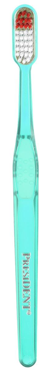 Зубная щетка President Silver 999, со сменной головкой, жесткая4310-910136Головка щетки покрыта серебром 999 пробы, которое при контакте с водой обеспечивает бактерицидное действие на патогенную микрофлору, вызывающую кариес и воспаление десен. Серебряное покрытие гарантирует естественный длительный процесс самодезинфекции самой щетины. Щетина Тупех от DuPont обеспечивает тщательное удаление налета и бережное отношение к эмали. В комплект входит защитный чехол и дополнительная сменная головка. Характеристики: Материал: пластик, щетина. Длина щетки: 19 см. Производитель: Италия. Артикул: 4310-910136. Товар сертифицирован.