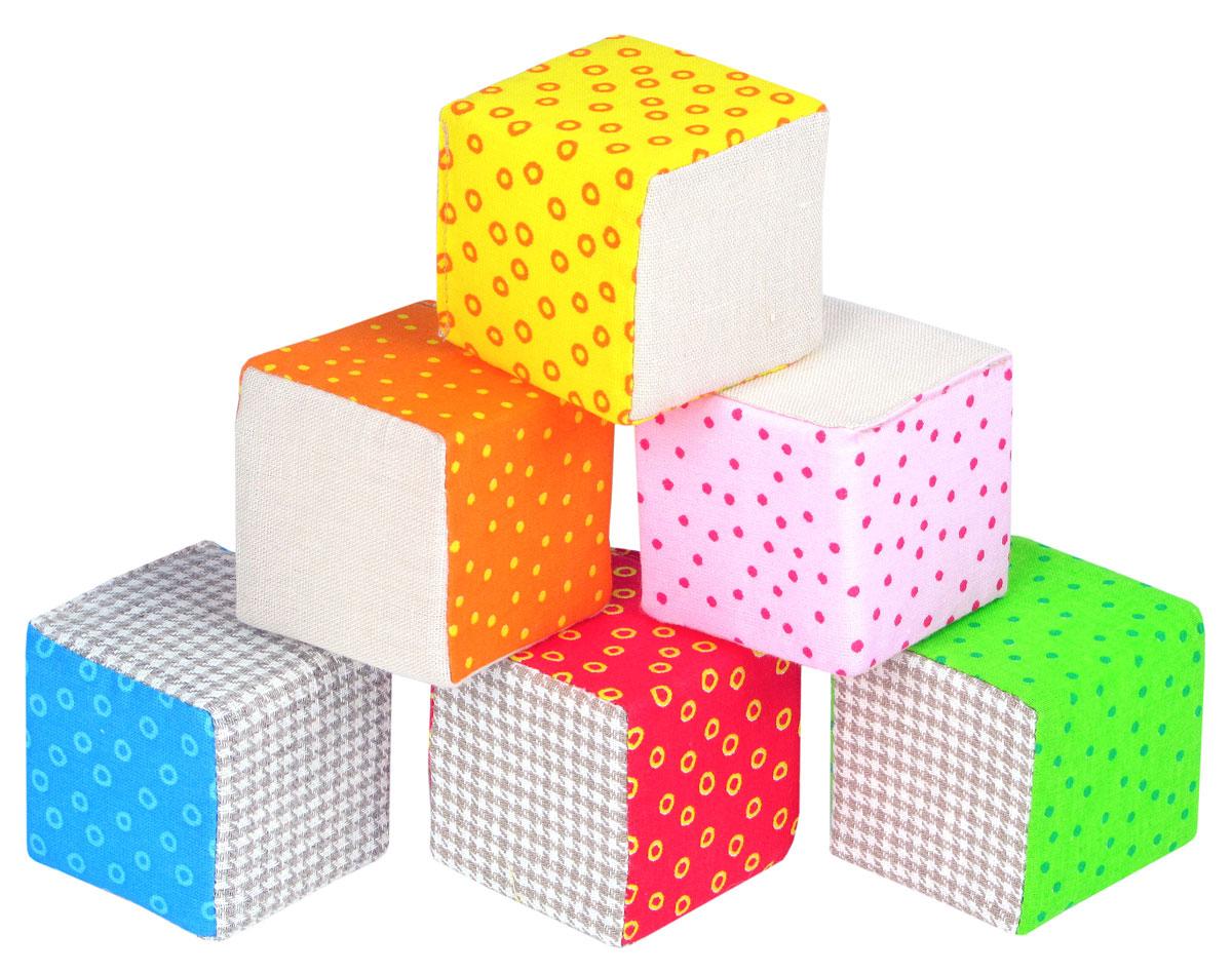 Мякиши Кубики Эко334Эко Кубики – это яркие и безопасные игрушки из преимущественно натуральных, экологичных материалов. В наборе 6 мягких кубиков, сшитых из хлопка и льна. Сочетание красочных хлопковых тканей и природных оттенков натурального льна делает этот набор особенно нарядным. Игрушка упакована в стильную, экологичную крафтовую упаковку. Оптимальный размер, яркие цвета и разные фактуры тканей, звуковые элементы – всё это будет способствовать развитию системы анализаторов малыша, совершенствованию мелкой моторики, формированию навыков конструирования. Изготовлено из гипоаллергенных материалов.