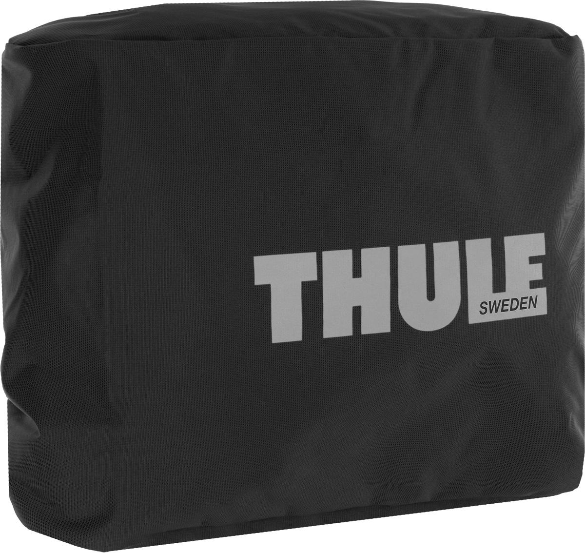 Чехол-дождевик для сумки Thule Pannier, цвет: черный100041Чехол-дождевик для сумки Thule Pannier предназначен для использования с велосипедными сумками Thule Packn Pedal Large Pannier. Чехол выполнен из прочного водонепроницаемого материала. Благодаря эластичной резинке легко и просто одевается на сумку. С таким чехлом ваша велосипедная сумка не промокнет, и все содержимое останется сухим.