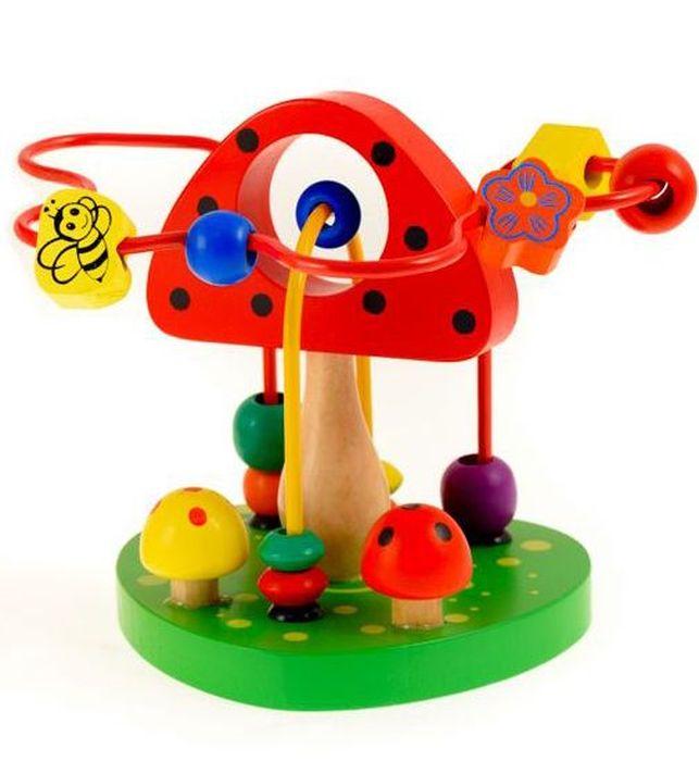 Развивающие деревянные игрушки Лабиринт ГрибочекРДИ-Д503аЛабиринт - незаменимая игрушка для развития мелкой моторики. Яркие красочные лабиринты станут для ребенка не только любимой игрушкой, но и помогут ему изучить цвета, формы, развить воображение. А качественно обработанные элементы из материалов, прошедших все необходимые сертификационные тесты, ребенок может смело пробовать на режущийся зубок. Набор упакован в стильную коробку с использованием тактильных элементов из выборочного лака