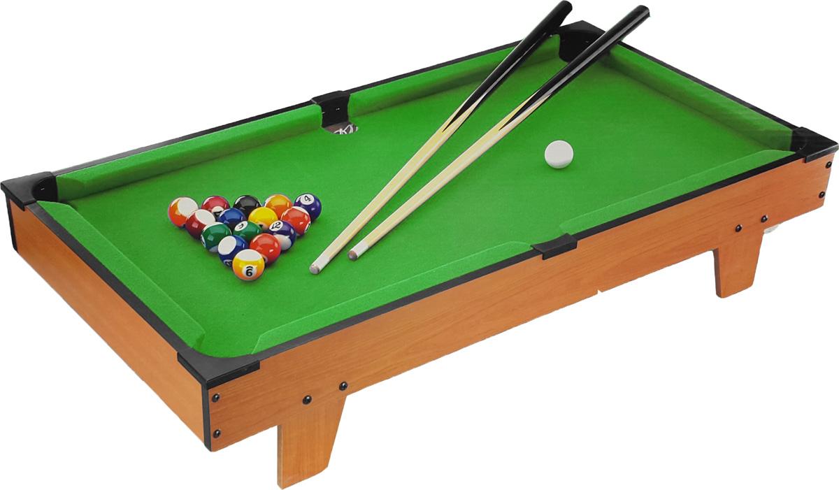 Huang Guan Мини-бильярдHG203DНастольная игра Бильярд состоит из игрового стола на ножках, 16 шаров, двух киев, треугольника, мела и щетки. Настольный бильярд - это увлекательная и полезная игра, которая развивает глазомер, вырабатывает четкость и координацию движений. Играть в настольный бильярд могут все. Эта игра поможет весело провести время и разнообразит ваш досуг. Успех игрока зависит от терпения, меткости, умения рассчитывать силу, ловкости и координации движений. Такая игра станет прекрасным подарком для всех любителей бильярда. Бильярд предназначен для игры в домашних, школьных и клубных условиях.