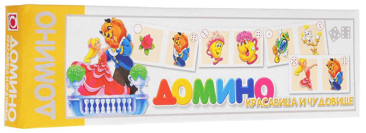 Оригами Домино Красавица и Чудовище4140При помощи домино Оригами Красавица и Чудовище дети научатся считать от одного до шести, находить одинаковые картинки и выделять объект из множества других. Комплект игры включает в себя 28 карточек с красочными изображениями героев одноименного мультфильма. В свой ход, каждый игрок должен добавить в цепочку из карточек одну их своих так, чтобы изображение на ней подошло к изображению на конце цепи. Если в руках у игрока нет подходящей карточки - он берет дополнительные, до тех пор, пока не попадется нужная. Выигрывает тот, кто первым выложит все свои карточки. Игра в домино не только подарит малышу множество веселых мгновений, но и поможет развить внимательность, пространственное мышление и мелкую моторику.
