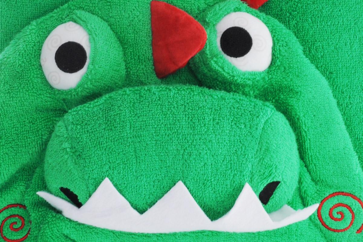 Zoocchini Полотенце с капюшоном Динозаврик Девин