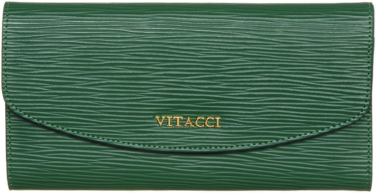 Кошелек женский Vitacci, цвет: зеленый. HS014HS014