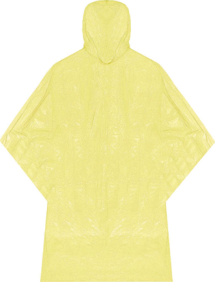 Плащ-дождевик Мультидом Пончо, цвет: желтый, 122 х 102 смL24-1_желтыйПлащ-дождевик Мультидом Пончо, выполненный из полимерной пленки (полиэтилен), станет простым, дешевым и надежным решением в дождливую погоду. К числу достоинств можно отнести его компактность, благодаря которой он без труда поместится даже в дамской сумочке. Кроме того, в отличие от зонта, дождевик позволяет рукам оставаться свободными. Широкий крой не стеснит движений и позволит быстро и без труда надеть дождевик. Теперь дождь не застанет вас врасплох. Где бы вы ни были - на отдыхе, на рыбалке, на даче или по дороге на работу (домой), если у вас в кармане лежит дождевик, то вопрос с защитой решен. Длина: 102 см. Размах по рукавам: 122 см.