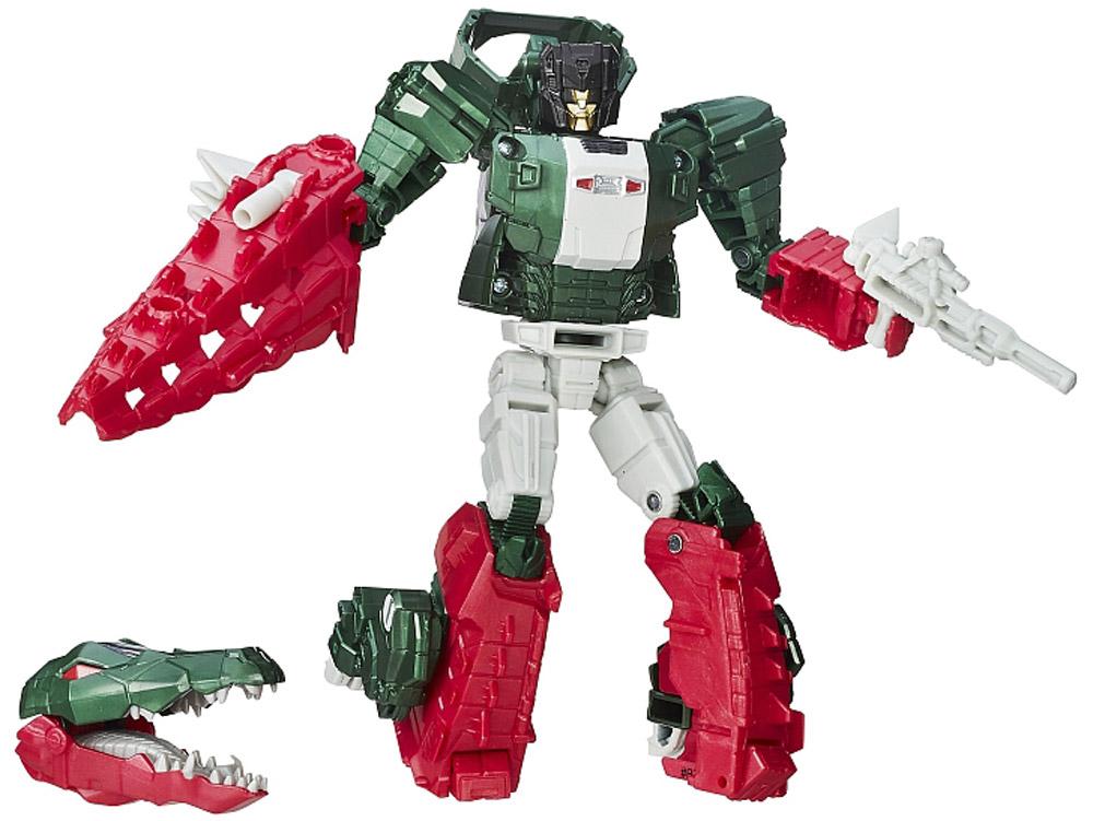 Transformers Трансформер Grax & SkullsmasherB7762EU4_B7027Трансформер Transformers Grax & Skullsmasher обязательно понравится всем маленьким поклонникам знаменитых Трансформеров! Фигурка выполнена из прочного пластика. В несколько простых шагов (11 шагов) малыш сможет трансформировать фигурку робота в транспортное средство в виде крокодила и обратно. Фигурка отличается высокой степенью детализации. Ребенок с удовольствием будет играть с трансформером, придумывая различные истории. Порадуйте его таким замечательным подарком! В комплект также входят оружие трансформера и карта персонажа с техническими характеристиками.