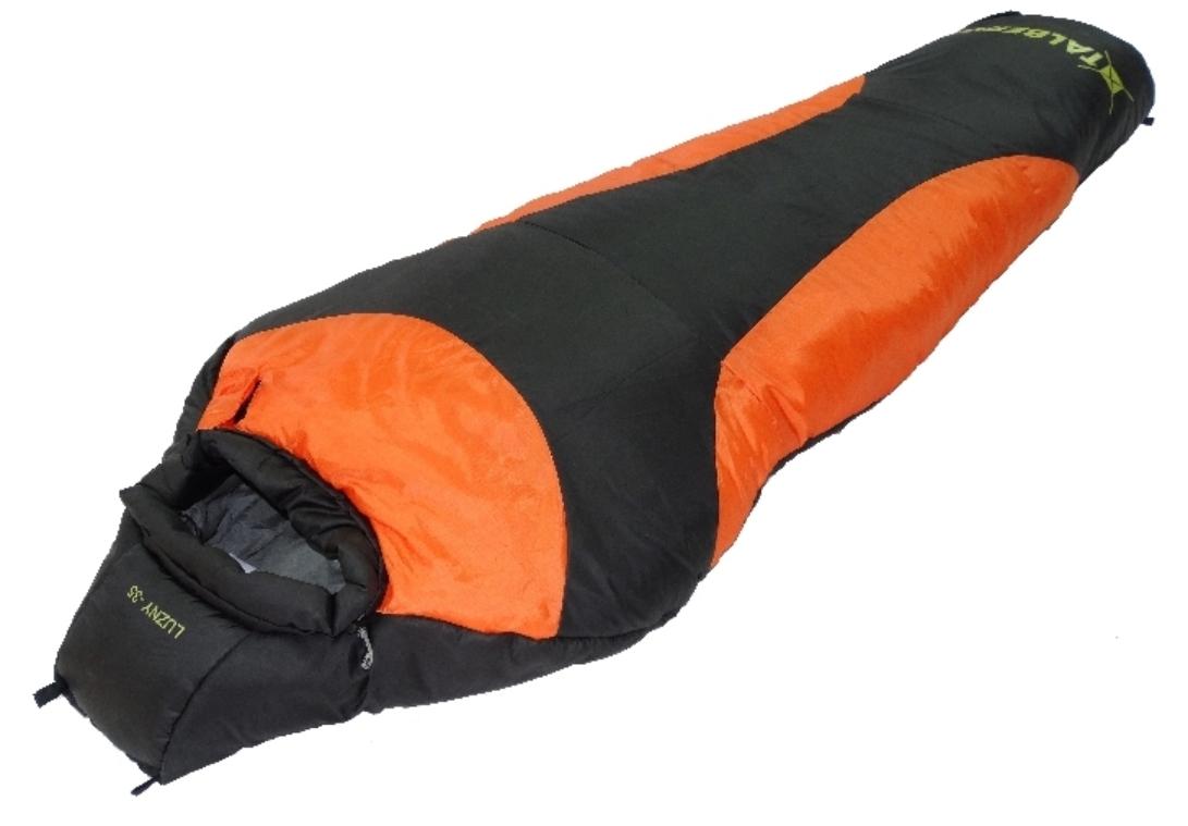 """Спальный мешок Talberg """"LUZNY -35С"""", правая молния, цвет: черный УТ-000070012"""