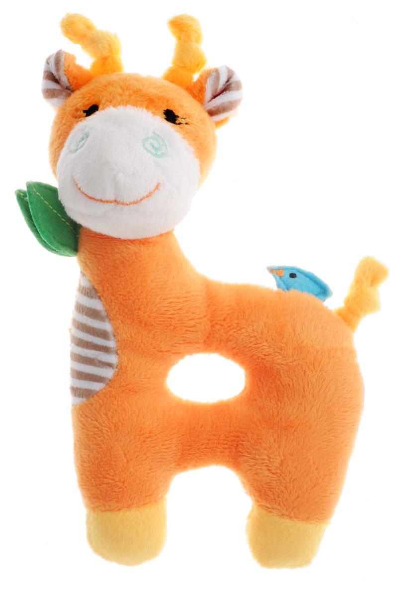 Zoocchini Погремушка Жираф00529Погремушка Zoocchini Жираф - это прекрасный подарок для вашего малыша. Игрушка отличается оригинальным дизайном и качественным исполнением. Жираф станет верным другом для каждого ребенка, подарит множество приятных мгновений и непременно поднимет настроение. Погремушка идеальна для маленьких ручек малыша. При тряске издает негромкий звук Симпатичная игрушка будет радовать вашего ребенка, а также способствовать полноценному и гармоничному развитию его личности.