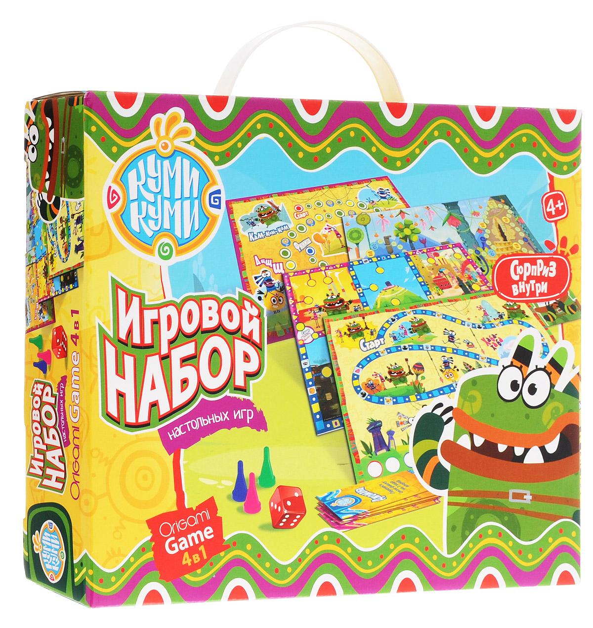 Оригами Набор настольных игр + пазл в подарок 0155901559
