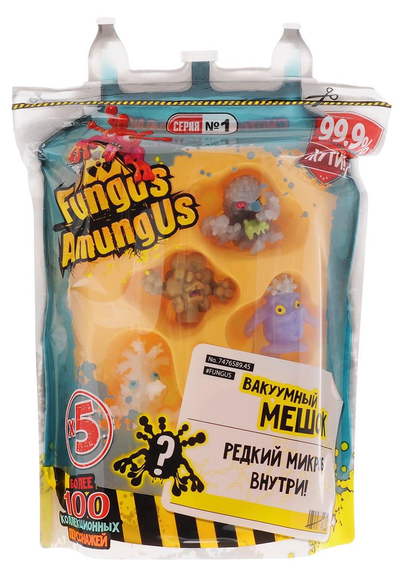 Fungus Amungus Набор фигурок Вакуумный мешок22505.2300Новая серия функциональных коллекционных игрушек Fungus Amungus от Vivid – настоящий простор для фантазии на научную тематику. Ведь только в первой серии вышло целых 105 фигурок – токсичных и полезных микробов, которые сбежали из бактериологической лаборатории. Среди них обитатели тропических джунглей, цифровых гаджетов и даже человеческого тела! В этом вакуумном мешке вы найдете пять бактерий, одна из которых – секретная суперредкая! Кроме того, внутри находится руководство коллекционера: с помощью него можно легко определить, к какой из 7 групп микробов принадлежат ваши персонажи и кого еще не хватает для завершения коллекции. Кстати, сам мешок можно использовать для хранения этих и других фигурок.