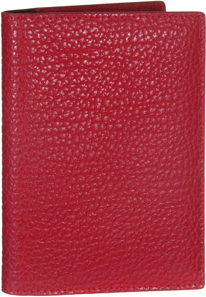 Обложка для документов женская Vitacci, цвет: красный. HS091HS091Стильная обложка для документов от Vitacci выполнена из натуральной кожи зернистой текстуры. Внутри расположено два боковых кармана, один из которых прозрачный и пять карманов для визиток. Также внутри находится съемный блок из шести прозрачных файлов из мягкого пластика, один из которых формата А5, а также четыре накладных кармана для визиток или кредитных карт. Изделие упаковано в фирменную коробку. Такая обложка для документов идеально подойдет для любого образа и сохранит ваши документы.