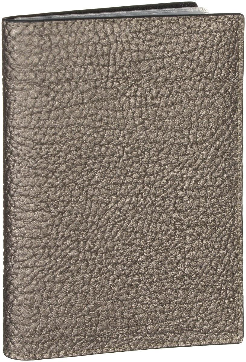 Обложка для документов женская Vitacci, цвет: бронзовый. HS092HS092Стильная обложка для документов от Vitacci выполнена из натуральной кожи зернистой текстуры. Внутри расположено два боковых кармана, один из которых прозрачный и пять карманов для визиток. Также внутри находится съемный блок из шести прозрачных файлов из мягкого пластика, один из которых формата А5, а также четыре накладных кармана для визиток или кредитных карт. Изделие упаковано в фирменную коробку. Такая обложка для документов идеально подойдет для любого образа и сохранит ваши документы.