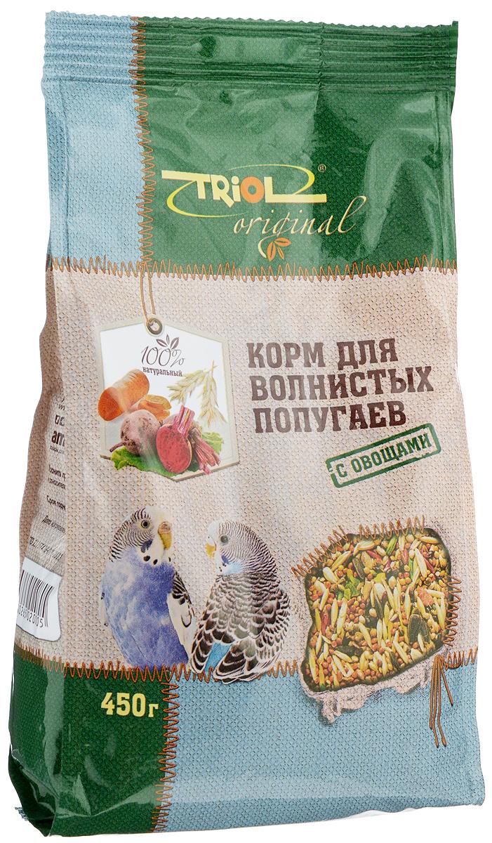 """Корм для волнистых попугаев """"Triol"""", с овощами, 450 г TF-00200"""